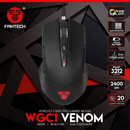 Fantech Wireless Gaming Mouse WGC1